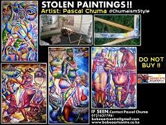 Chuma's Stolen Paintings